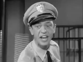 Watch and share Barney Fife   Nip It In The Bud GIFs on Gfycat