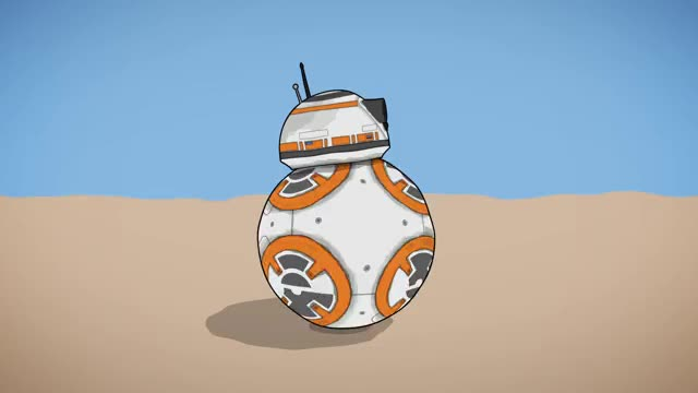 Watch and share Star Wars BB8 GIFs by somethingstudio on Gfycat