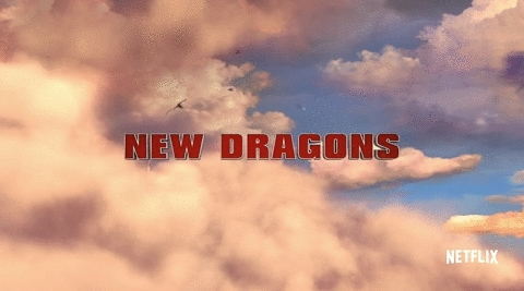 astrid, dragons, hiccup, httyd, httyd edit, httyd gif, my edit, night fury, race to the edge, HTTYD fan GIFs