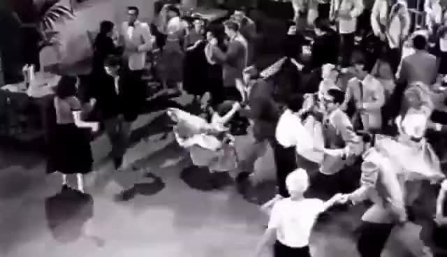 Watch Real 1950s Rock & Roll, Rockabilly dance from lindy hop ! GIF on Gfycat. Discover more related GIFs on Gfycat