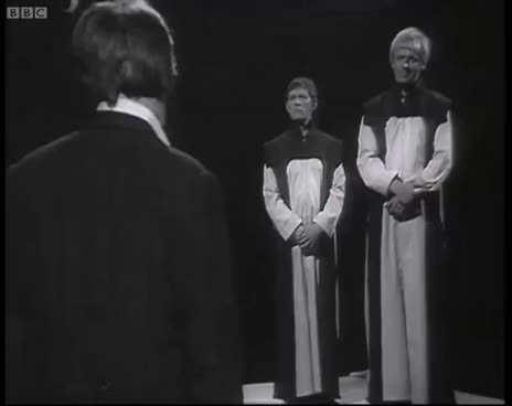 The Second Doctor Regenerates - Patrick Troughton to Jon Pertwee GIFs