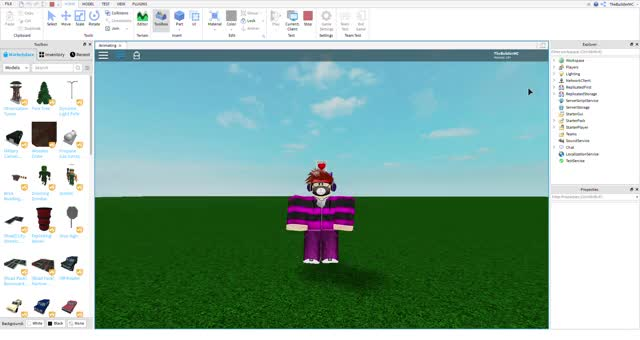 Watch and share Animating - Roblox Studio 5 17 2019 5 00 32 PM GIFs on Gfycat