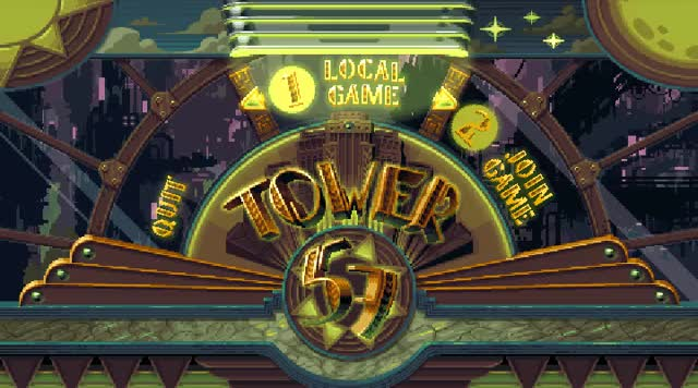 Watch Tower 57 Title GIF by @retronator on Gfycat. Discover more related GIFs on Gfycat