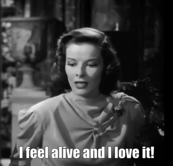 Watch and share Katherine Hepburn GIFs and Happy GIFs by Reactions on Gfycat
