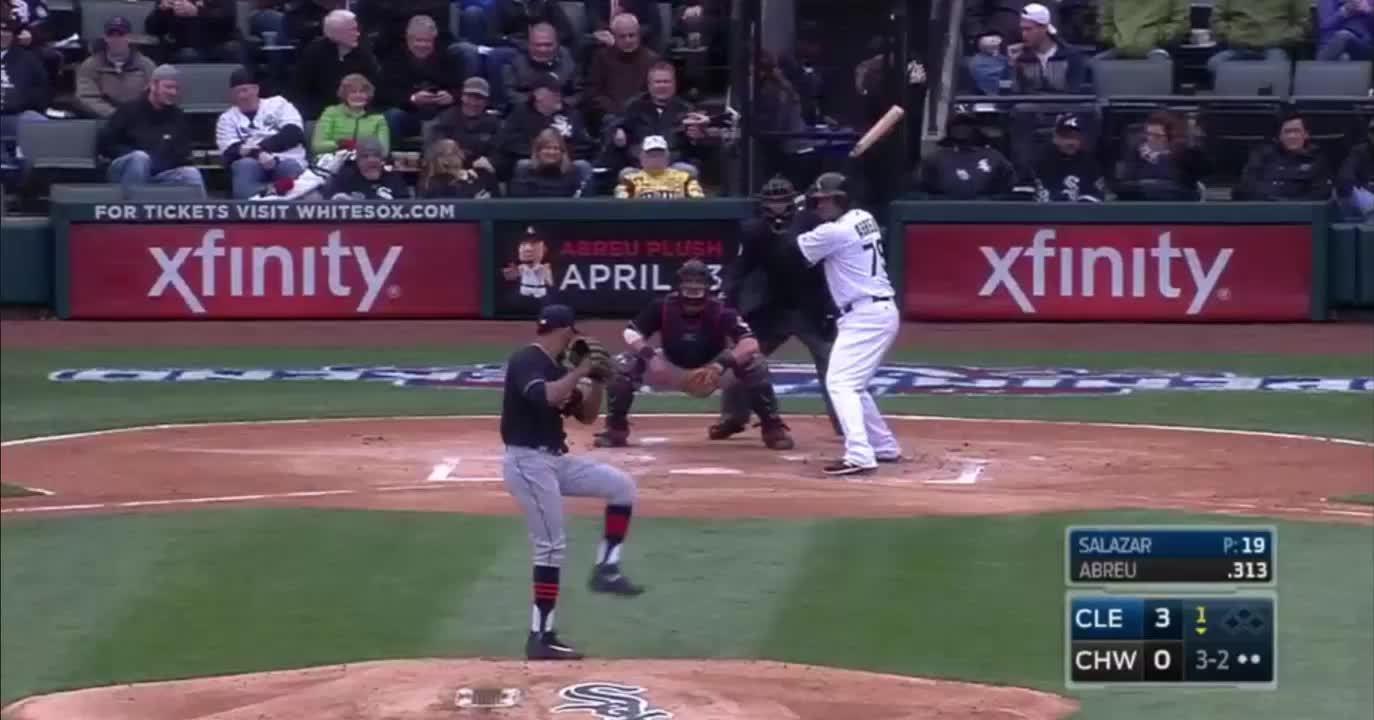 baseball, wahoostipi, Salazar 7 K's vs White Sox: #2 GIFs