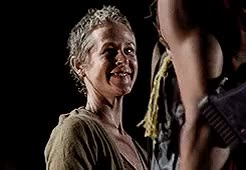 Watch Carol Peletier + smiling (requested by atoizzard) GIF on Gfycat. Discover more 1000, carol peletier, mine: twd, mine: twd gifs, twd joy, you fight it and fight it you don't give up and then one day you just change GIFs on Gfycat