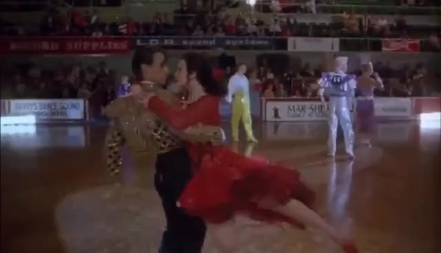 Watch and share Strictly Ballroom   'Disqualification' (HD) - A Baz Luhrmann Film   MIRAMAX GIFs on Gfycat