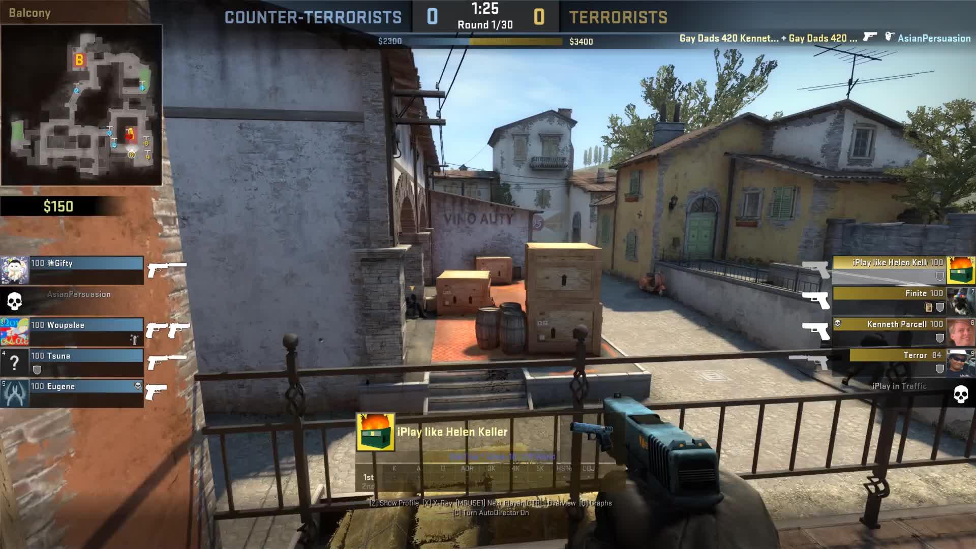 CS:GO, GlobalOffensive, Glock 4K GIFs