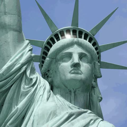 Watch and share Statue Of Liberty GIFs and Corona Virus GIFs by INTO ACT!ON on Gfycat