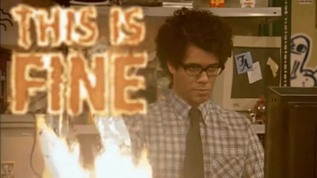 Watch This Is Fine GIF by @flurryfish691 on Gfycat. Discover more richard ayoade GIFs on Gfycat