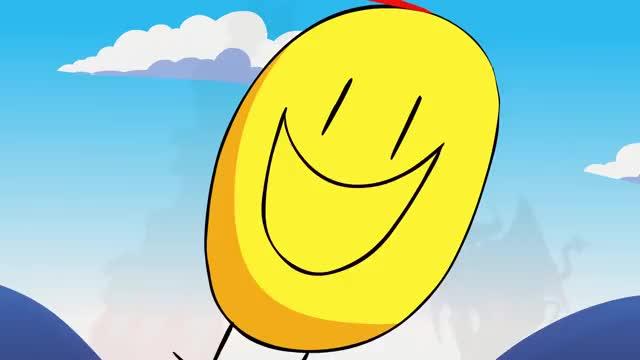 улыбка гифка мультяшная часть