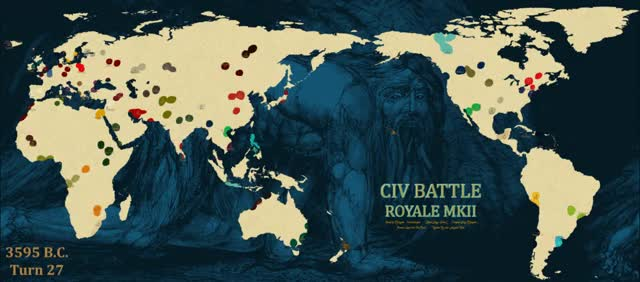 Watch /r/Civ Battle Royal Map Evolution Gif - Part 40 GIF by @djmooray on Gfycat. Discover more battle royal, civ5, civilization GIFs on Gfycat
