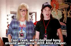 Watch and share Favorite Movie GIFs and Wayne's World GIFs on Gfycat