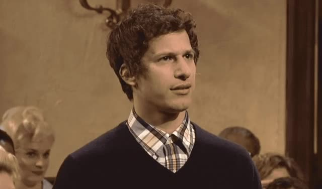 Watch this andy samberg GIF by GIF Queen (@ioanna) on Gfycat. Discover more andy, confused, confusion, eye, fuck, hesitate, hmm, idea, live, night, no, roll, samberg, saturday, snl, the, think, wait, what, wtf GIFs on Gfycat