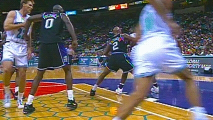 Dell Curry — Charlotte Hornets GIFs