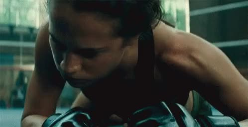 Watch and share Alicia Vikander GIFs by Here to Gif  on Gfycat