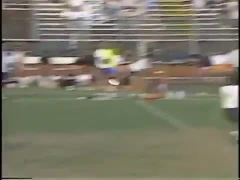 ultimate, ultimategifs, Awesome greatest from the 1989 UPA men's final - Kenny Dobyns huck to Pat King (bonus greatest in comments) (reddit) GIFs