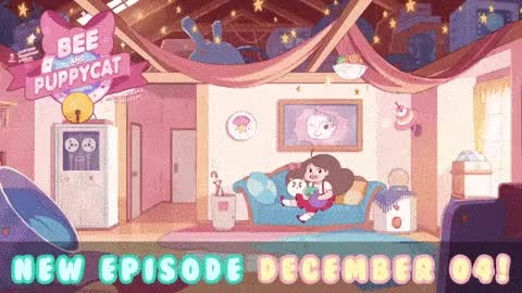 Watch New Episode airing tomorrow on Cartoon Hangover!  GIF by Cartoon Hangover (@cartoonhangover) on Gfycat. Discover more bee and puppycat, cartoonhangover, cute, frederatorblog, gif, lol GIFs on Gfycat