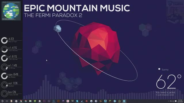 Watch and share Rainmeter GIFs by MirroredReality on Gfycat