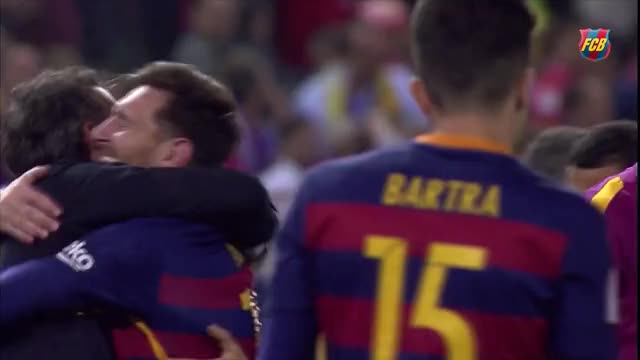 Watch Luis Enrique and Messi GIF by Name (@rickdeckard) on Gfycat. Discover more barca, fc barcelona, fútbol, messi, برشلونة، GIFs on Gfycat