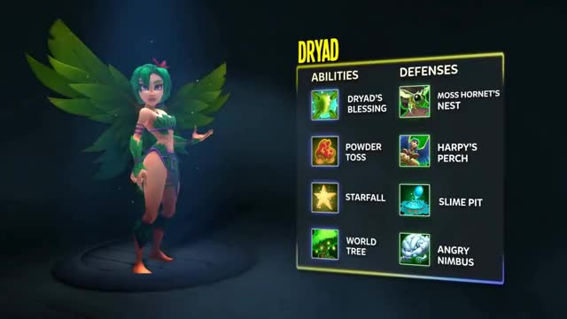 Watch Meet the Dryad | Dungeon Defenders II GIF on Gfycat. Discover more Defenders, Dungeon, GamePlay, Hero, crossover, dd2, dryad, preview, review, terraria, trailer, video GIFs on Gfycat