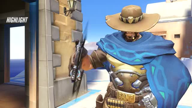 Watch mccree GIF on Gfycat. Discover more highlight, overwatch GIFs on Gfycat