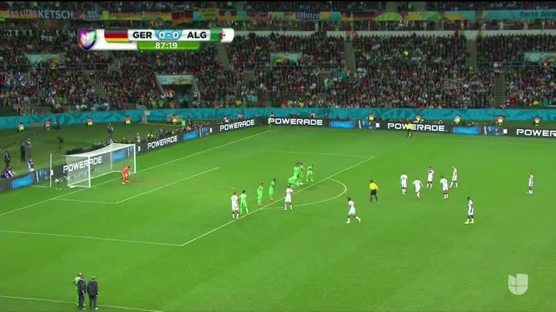 soccer, worldcup, Mueller slips during free kick attempt (reddit) GIFs