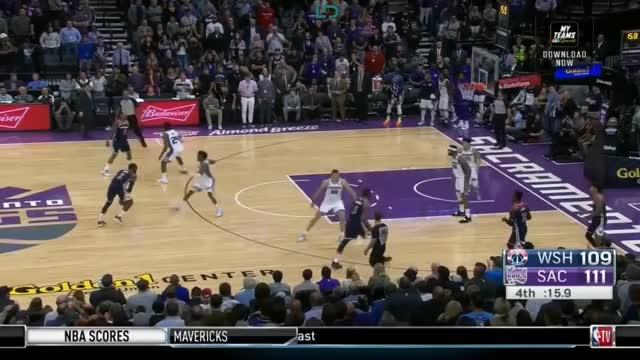 Watch Washington Wizards defeat Sacramento Kings 116-112, Nemanja Bjelica 26 Pts | NBA GameTime GIF by @kevinp223 on Gfycat. Discover more News Sport, People & Blogs, Sacramento Kings, Toronto Raptors, basketball GIFs on Gfycat