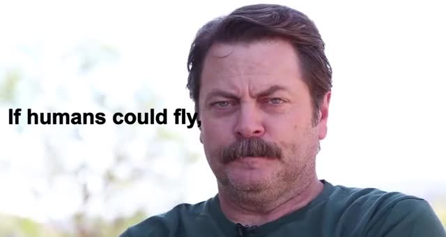 Watch and share Nick Offerman GIFs by Reactions on Gfycat