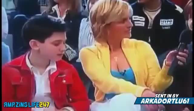 Russian Mom Son Friends