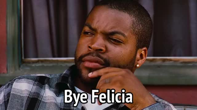 Watch this bye felicia GIF by MikeyMo (@mikeymo) on Gfycat. Discover more bye felicia, bye felisha, friday, ice cube GIFs on Gfycat