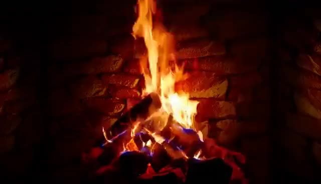 Watch and share 4K Relaxing Fireplace With Crackling Fire Sounds 🔥 - No Music - 4K UHD - 2 Hours Screensaver GIFs on Gfycat