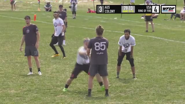 Watch and share WUCC 2018 - Ring Of Fire (USA) Vs Colony (AUS) GIFs on Gfycat