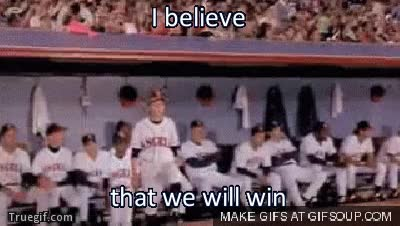 Watch i believe that we will win GIF on Gfycat. Discover more related GIFs on Gfycat