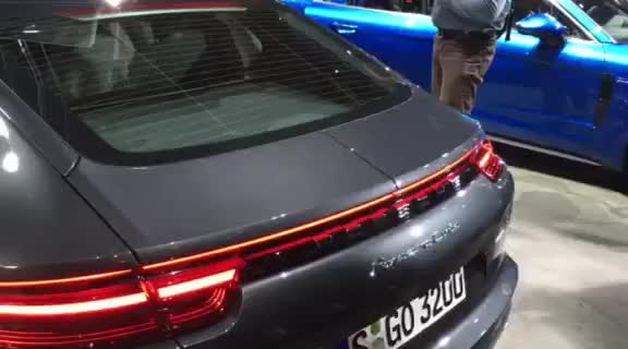 Watch and share New Porsche Panamera Turbo Rear Spoiler GIFs on Gfycat