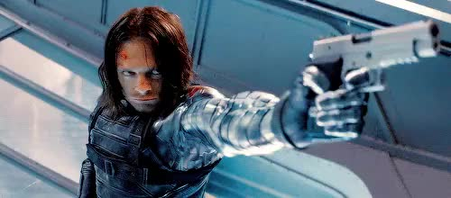 Watch and share Captain America Winter Soldier GIFs and Shooting GIFs on Gfycat