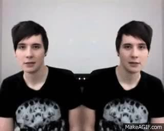 Watch and share Daniel Howell GIFs and Amazing Phil GIFs on Gfycat