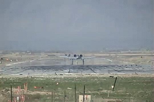 aviationgifs, A-10 Low Takeoff GIFs