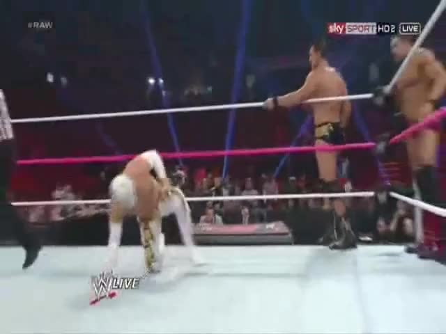 Watch From behind GIF by metaknightxprophets on Gfycat. Discover more Alberto Del Rio, Awesome, Cool, David Otunga, Popular, Ricardo Rodriguez, Sheamus, Sin Cara GIFs on Gfycat