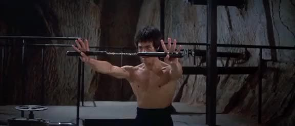 Watch and share Bruce Lee Whipping His Nunchucks Around (reddit) GIFs by radhumandummy on Gfycat
