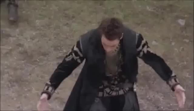 Watch this trending GIF on Gfycat. Discover more HenryVIII, bowing, outside, thetudors GIFs on Gfycat