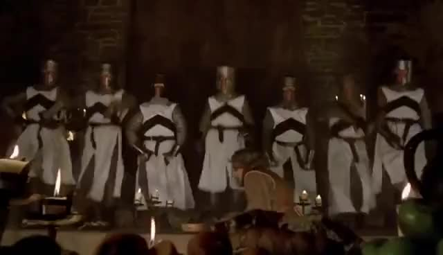Camelot (Knights Of The Round Table) [HD] - Monty Python And