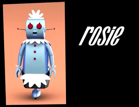 Watch and share Rosie The Robot - The Jetsons GIFs on Gfycat