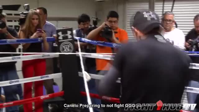 Watch Canelo practice. GIF on Gfycat. Discover more boxing, fight hub, saul canelo alvarez GIFs on Gfycat