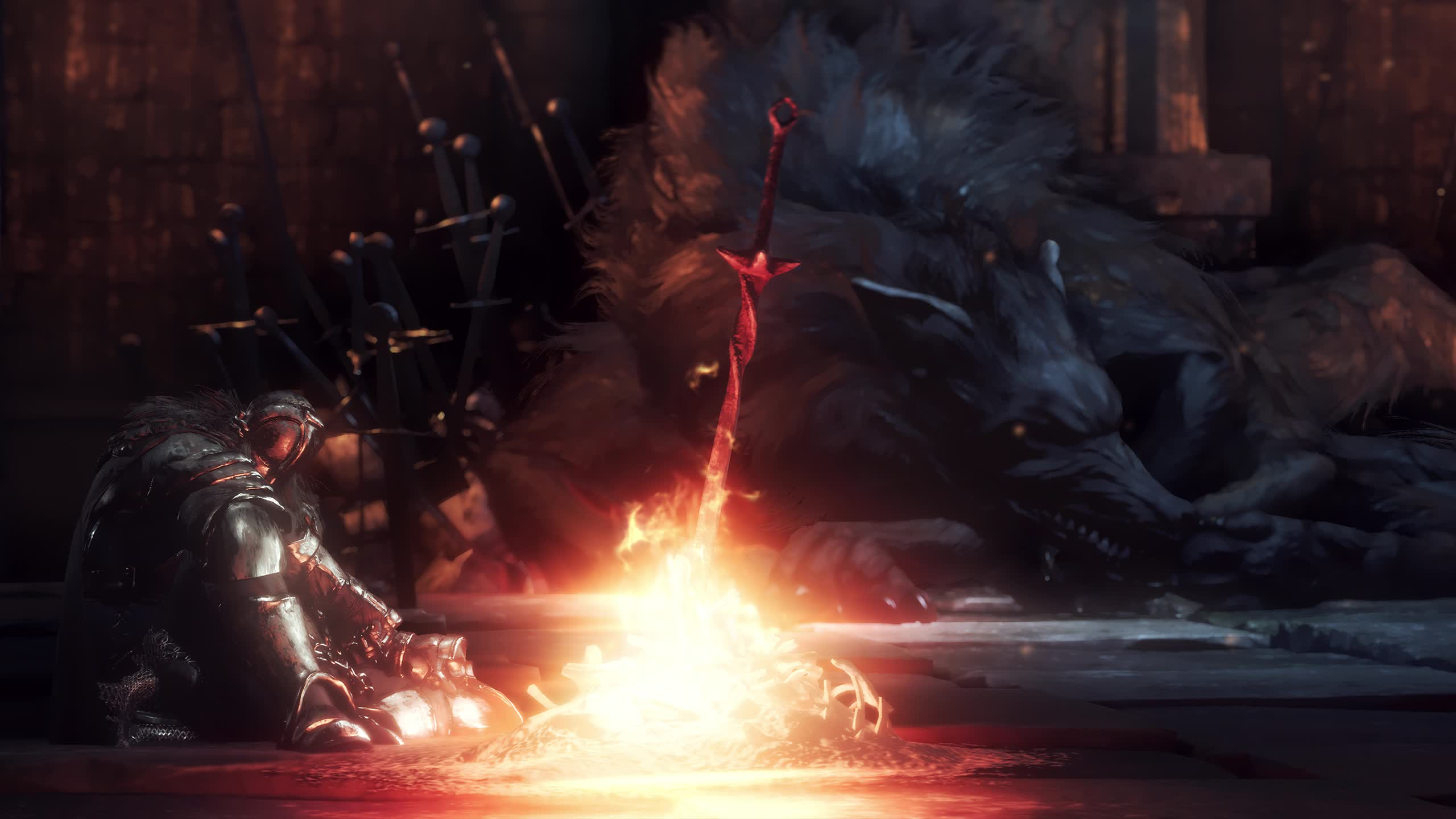 Dark Souls Bonfire Gif By Rzf Gfycat