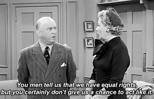 """Watch and share Vivian Vance In I Love Lucy Episode """"Equal Rights"""" GIFs on Gfycat"""
