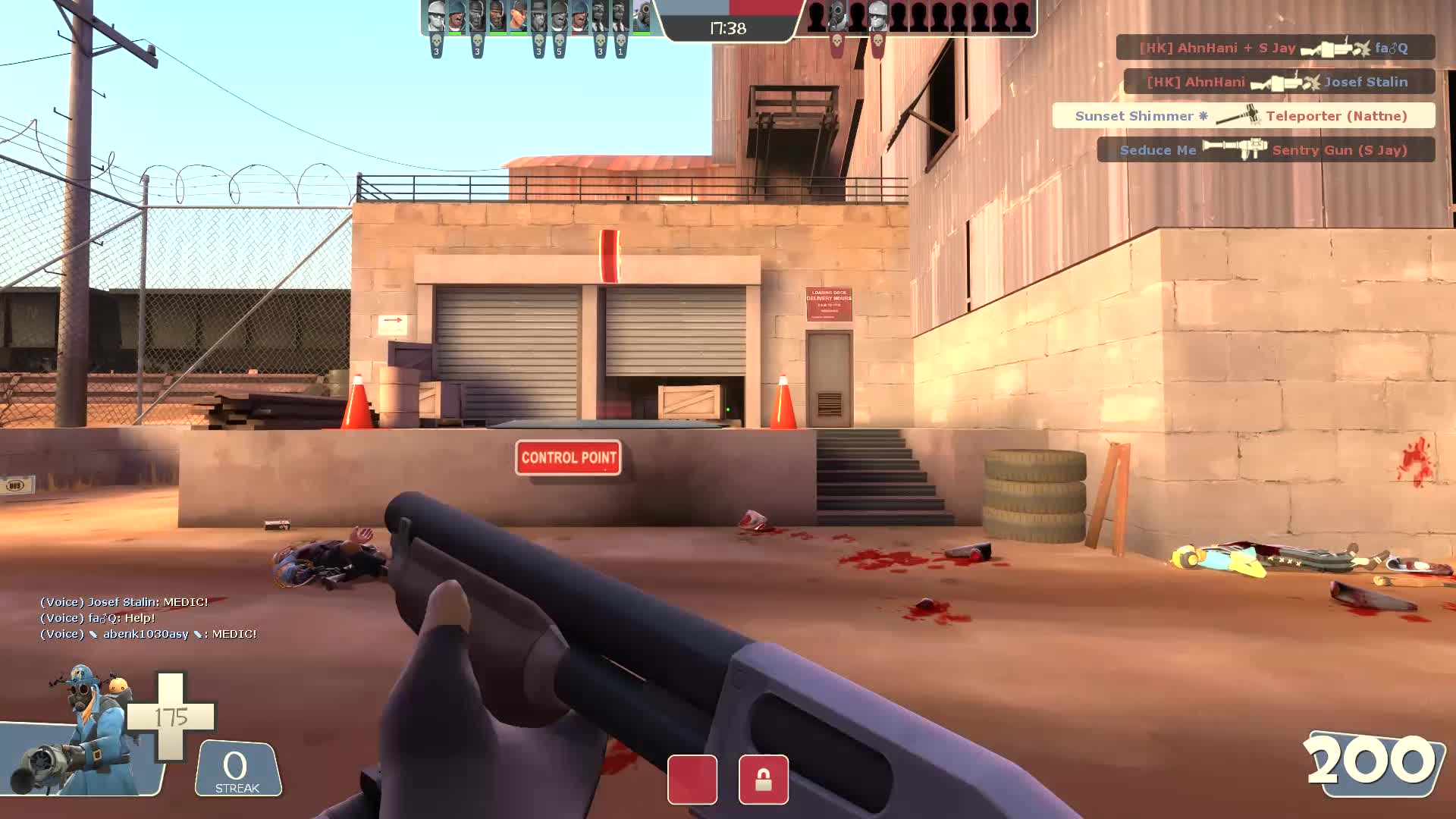 tf2, Successfully disarming a cone sticky trap GIFs