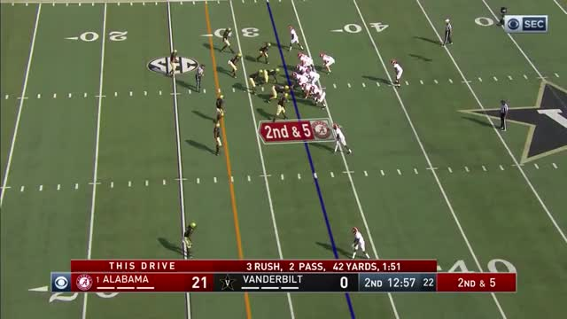 Watch 2017 #1 Alabama vs. Vanderbilt (HD) GIF on Gfycat. Discover more 2017, 2017 Alabama, 2017 Alabama Vandy, 2017 Vanderbilt, 2017 Vandy, Alabama vs Vanderbilt, HD, ROLL TIDE Graham, college football, football GIFs on Gfycat