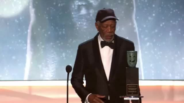 Watch Heavy Awards SAG Awards GIF by GIF Reactions (@visualecho) on Gfycat. Discover more Morgan Freeman, Rita Moreno, SAG Awards, SAGAwards GIFs on Gfycat