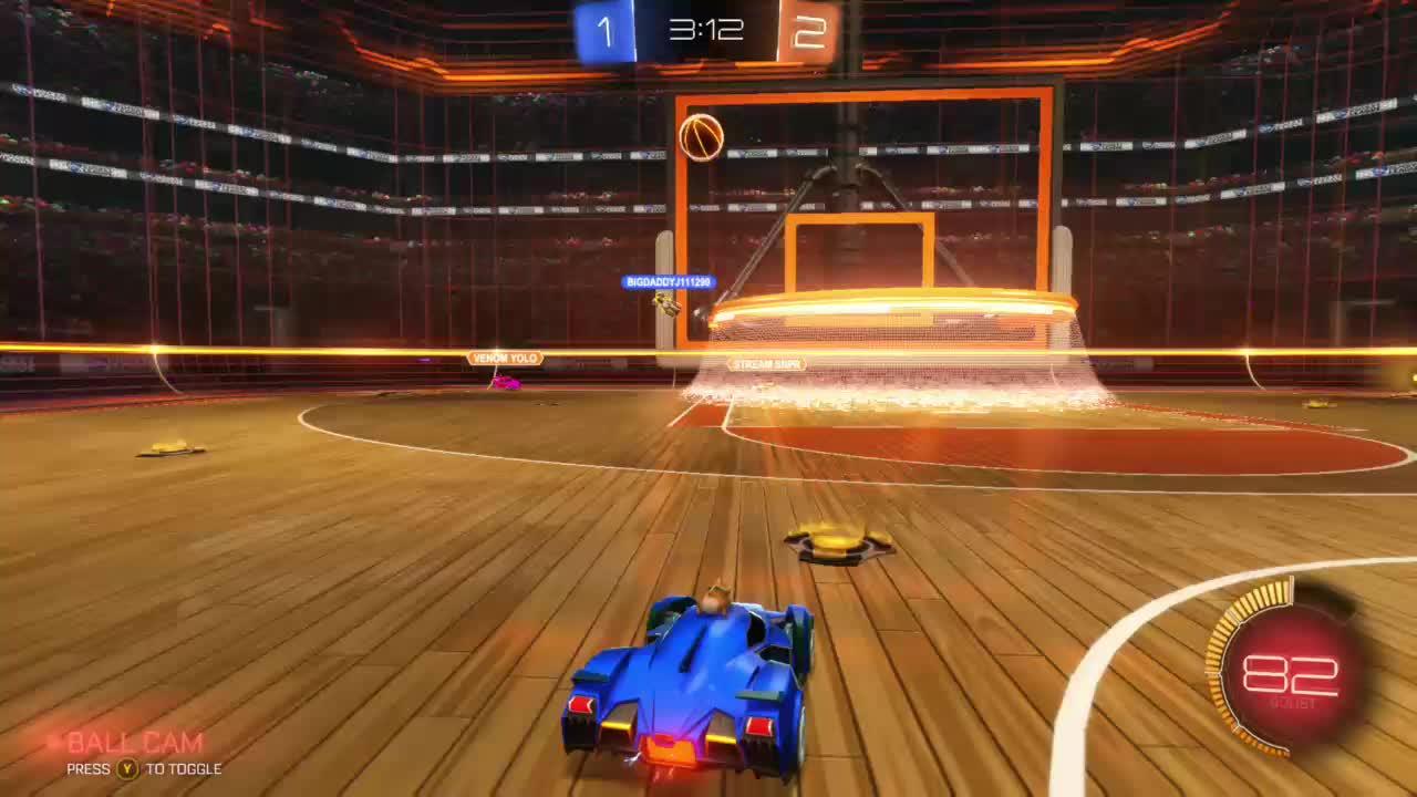 RocketLeague, StoneProSushi, gamer dvr, xbox, xbox one, Epic save in hoops! (Rocket league) GIFs
